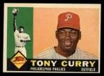 1960 Topps #541  Tony Curry  Front Thumbnail
