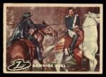 1958 Topps Zorro #85   Rawhide Duel Front Thumbnail