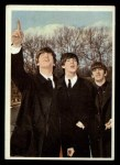 1964 Topps Beatles Color #12   John, Ringo and Paul Front Thumbnail