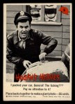 1965 Fleer Hogan's Heroes #5   I Packed Your Car General! the Ticking??? Front Thumbnail