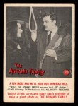 1964 Donruss Addams Family #28 AM  A few more and we'll have? Front Thumbnail