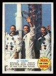 1969 Topps Man on the Moon #51 B James McDivitt / David Scott / Russell Schweickart Hi There Front Thumbnail
