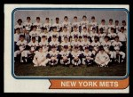 1974 Topps #56   Mets Team Front Thumbnail