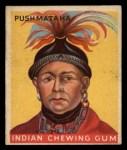 1933 Goudey Indian Gum #97   Push-Ma-Ta-Ha  Front Thumbnail