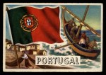 1956 Topps Flags of the World #47   Portugal Front Thumbnail