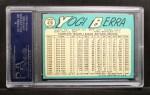 1965 Topps #470  Yogi Berra  Back Thumbnail