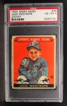 1933 Goudey Sport Kings #39  Jack Westrope   Front Thumbnail