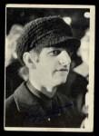 1964 Topps Beatles Black and White #70  Ringo Starr  Front Thumbnail
