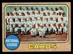 1968 Topps #497   Cardinals Team Front Thumbnail
