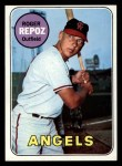 1969 Topps #103  Roger Repoz  Front Thumbnail
