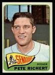1965 Topps #252  Pete Richert  Front Thumbnail