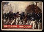 1956 Topps Davy Crockett #72 GRN  Breaking Through  Front Thumbnail