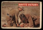 1956 Topps Davy Crockett #48 ORG  Davy's Victory  Front Thumbnail