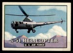 1952 Topps Wings #66   S-51 Helicopter Front Thumbnail