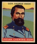 1933 Goudey Indian Gum #62  Gen. George Crook   Front Thumbnail