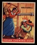 1933 Goudey Indian Gum #65  Mrs. Merrill   Front Thumbnail