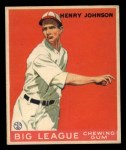 1933 Goudey #14  Henry Johnson  Front Thumbnail