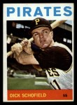 1964 Topps #284  Dick Schofield  Front Thumbnail