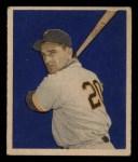 1949 Bowman #101  Sid Gordon  Front Thumbnail