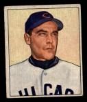 1950 Bowman #195  Phil Cavarretta  Front Thumbnail