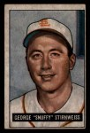 1951 Bowman #21  Snuffy Stirnweiss  Front Thumbnail