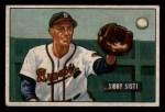 1951 Bowman #170  Sibby Sisti  Front Thumbnail