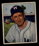 1950 Bowman #108  Ray Scarborough  Front Thumbnail