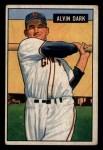 1951 Bowman #14  Al Dark  Front Thumbnail