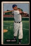 1951 Bowman #22  Hank Sauer  Front Thumbnail