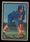 1951 Topps Magic #66  Carroll McDonald  Front Thumbnail