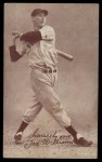 1939 Exhibit Salutations #64 SY Ted Williams   Front Thumbnail