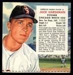 1955 Red Man #6 AL x Jack Harshman  Front Thumbnail