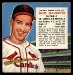 1954 Red Man #19 NLx Enos Slaughter  Front Thumbnail