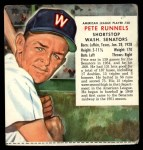 1955 Red Man #20 AL x Pete Runnels  Front Thumbnail