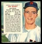 1955 Red Man #2 AL x Jim Busby  Front Thumbnail