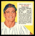 1955 Red Man #11 AL x Al Rosen  Front Thumbnail