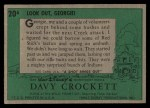 1956 Topps Davy Crockett #20 ^GEO^  Ambush Back Thumbnail
