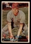 1957 Topps #274  Don Hoak  Front Thumbnail