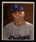 1950 Bowman #21  Pee Wee Reese  Front Thumbnail