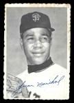1969 Topps Deckle Edge #32  Juan Marichal     Front Thumbnail