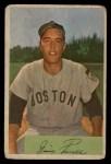 1954 Bowman #66 ^JIM^ Jimmy Piersall  Front Thumbnail