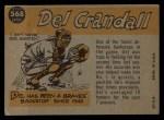 1960 Topps #568   -  Del Crandall All-Star Back Thumbnail