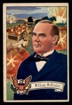 1952 Bowman U.S. Presidents #27  William McKinley  Front Thumbnail