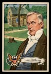 1952 Bowman U.S. Presidents #18  James Buchanan    Front Thumbnail