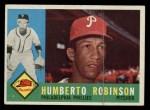 1960 Topps #416  Humberto Robinson  Front Thumbnail