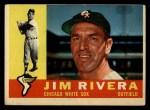 1960 Topps #116  Jim Rivera  Front Thumbnail