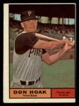 1961 Topps #230  Don Hoak  Front Thumbnail