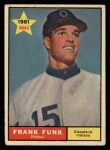 1961 Topps #362  Frank Funk  Front Thumbnail