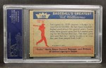 1959 Fleer #68   -  Ted Williams Signs for   Back Thumbnail