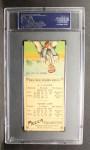 1911 T201 Mecca  Joe Hauser / Ernest Lush  Back Thumbnail